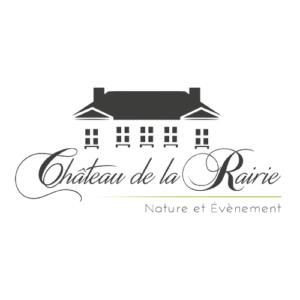 Création de logo pour le Château de la Rairie