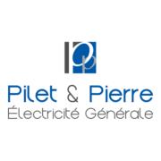 Création de logo pour l'électricien Pilet & Pierre