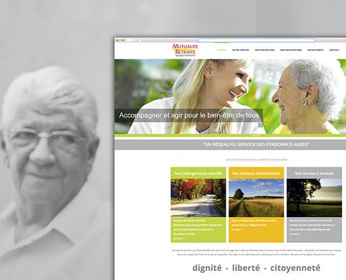 Site internet de Mutualité Retraite à Nantes (44)