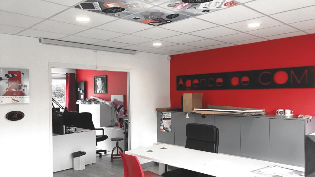 Photo intérieur de l'agence - Label Communication
