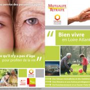 Plaquette Pro pour Mutualité Retraite - Label Communication