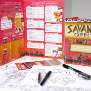 Communication globale du Restaurant Savane Express - Label Communication
