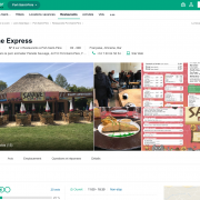 Page publique TripAdvisor pour le Restaurant Savane Express - Label Communication