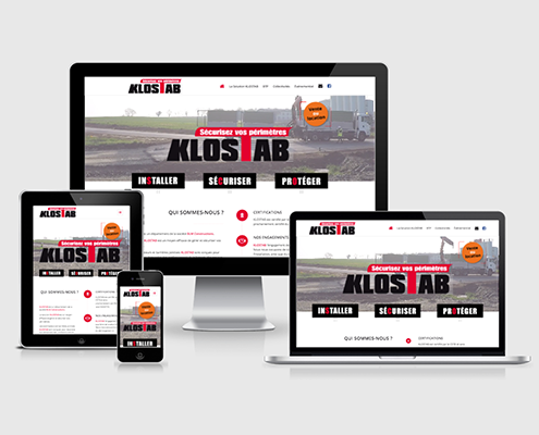 Site web KLOSTAB - Label Communication