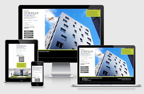 Site internet Paul Turpeau - Label Communication