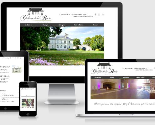 Site internet du Château de la Rairie (44)