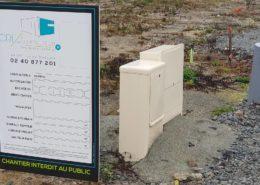 Panneau de chantier pour CREA Construction (44)