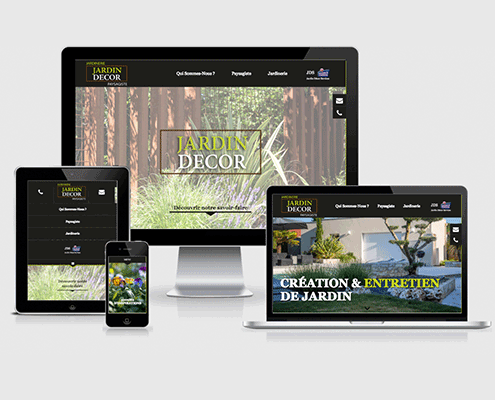 Site internet de Jardin Décor à Gétigné / Clisson (44)