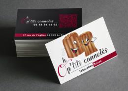 Cartes de visite Oh P'tits Cannelés au Pouliguen (44)