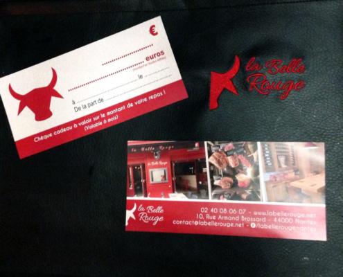 Coupon chèque-cadeau pour La Belle Rouge, restaurant à viande à Nantes (44)