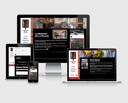 Site internet Le Bistrot de la Place à Doulon à Nantes (44)