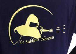 Flocage t-shirts pour Le Sableur Nantais (44)
