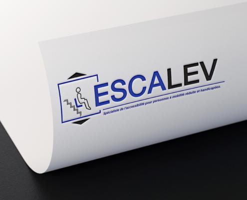 Refonte de l'identité visuelle d'Escalev à Vallet (44) et Angers (49)