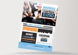 Création de flyer pour Nantes Sono