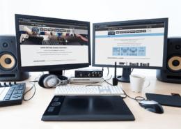 Création du site e-commerce pour Nantes Sono
