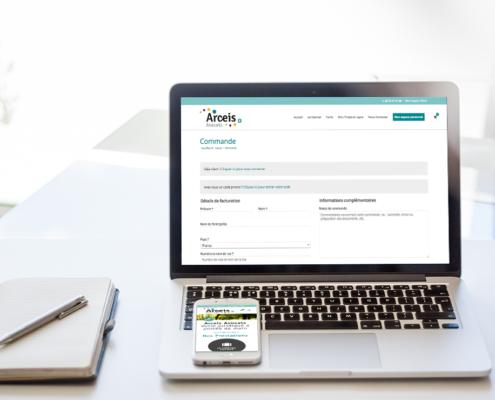 Création du site internet d'Arceis Avocats à Nantes (44)