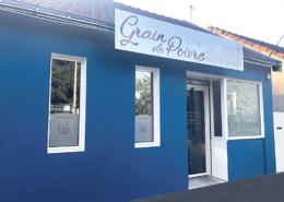 Façade du restaurant Le Grain de Poivre à Nantes