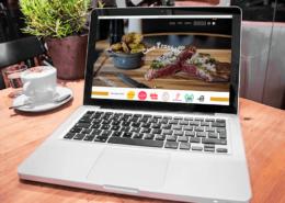 Nouveau site internet pour le restaurant Chez Franklin by Label Communication